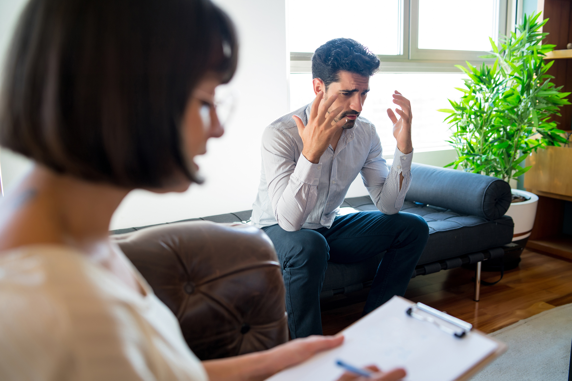 counseling session for disorders and issues